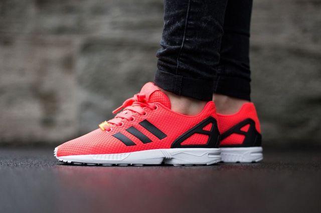 Adidas Originals Zx Flux Flame Red 2