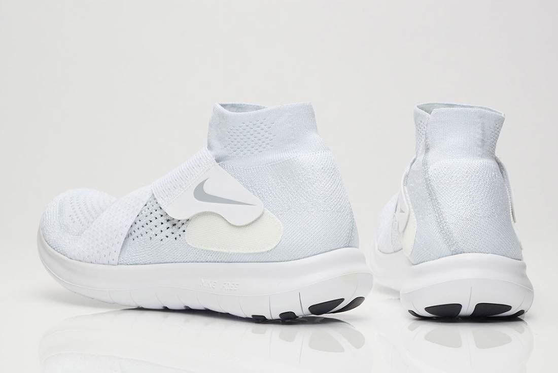 Nike Free Rn Motion 2017 Flyknit Whitegrey 3