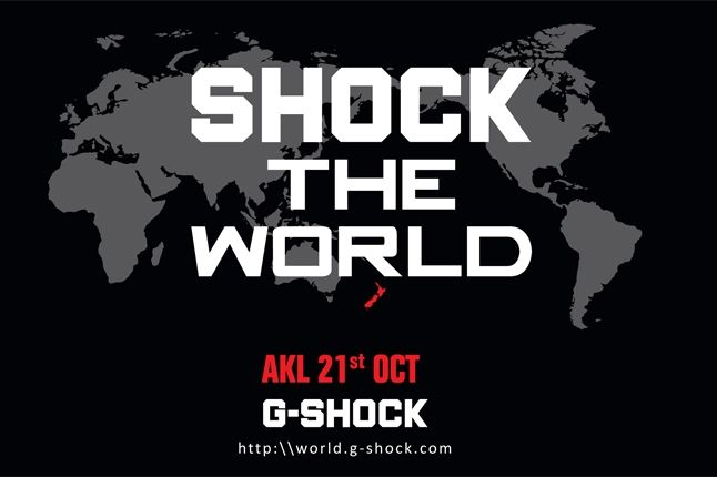 G Shock The World Auckland 1
