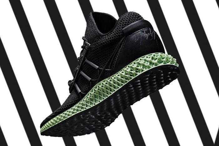 Adidas Y 3 Fw18 Runner 4 D 10