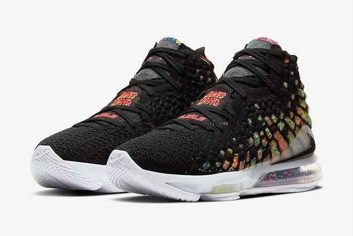 Nike Lebron 17 James Gang Toe