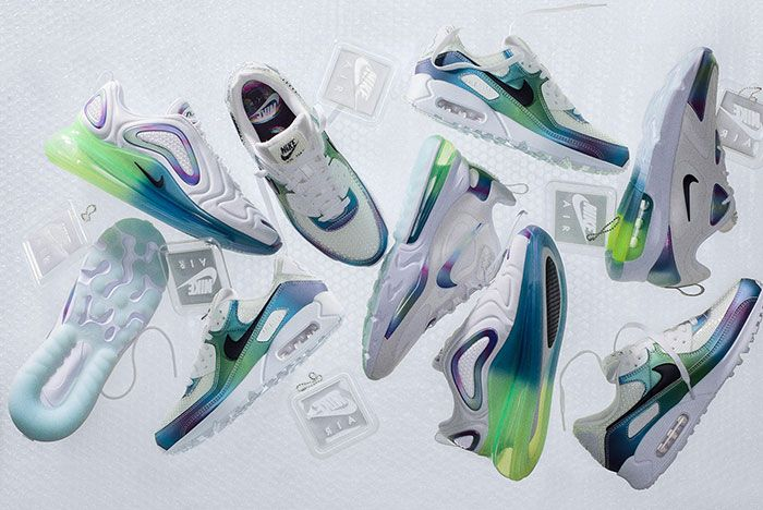 Nike Air Max Bubble Pack Blue Lateral Side Shot