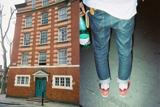 Ellesse Present London Fab Five Poli Behind The Scenes On Feet 1
