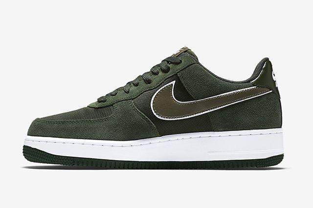 Nike Air Force 1 Hunter Green4