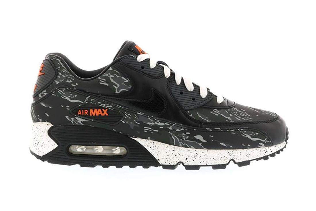 Atmos Nike Air Max 90 Tiger Camo 333888 024 Lateral