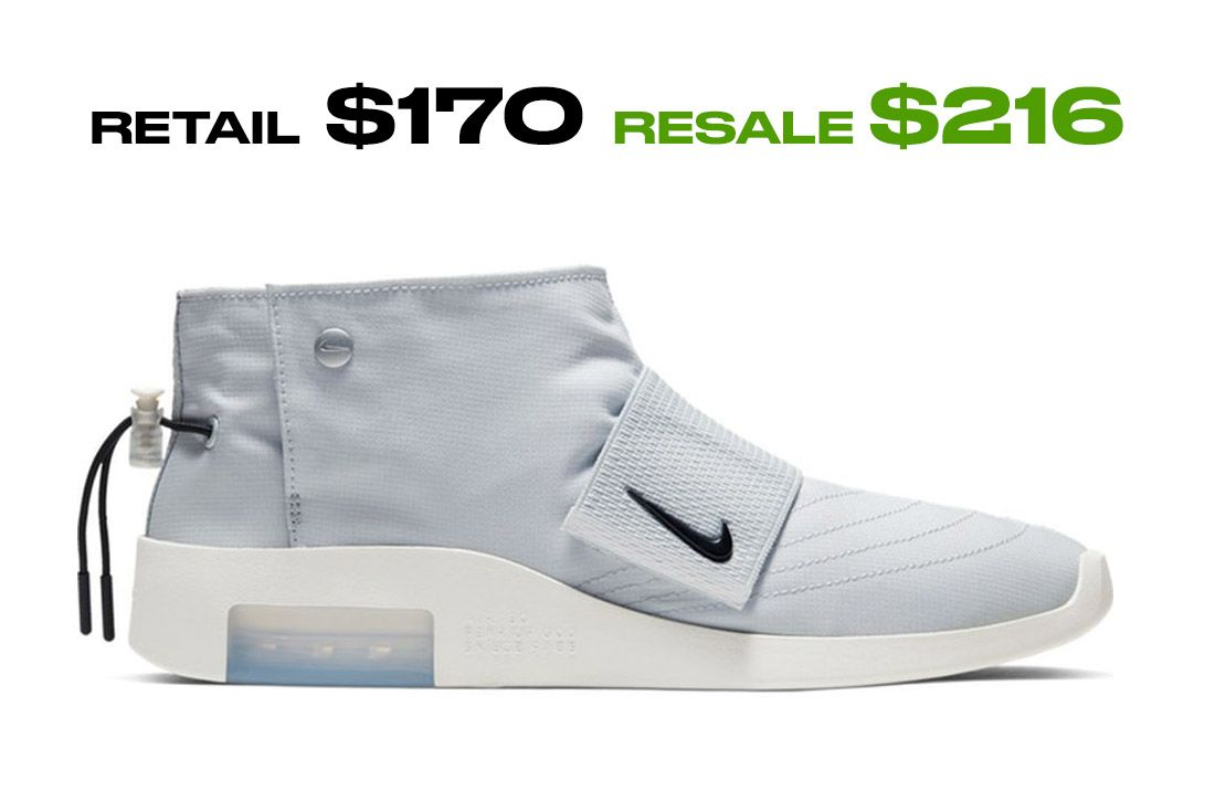 Stockx Resale Nike Fear Of God Moccasin Side Shot