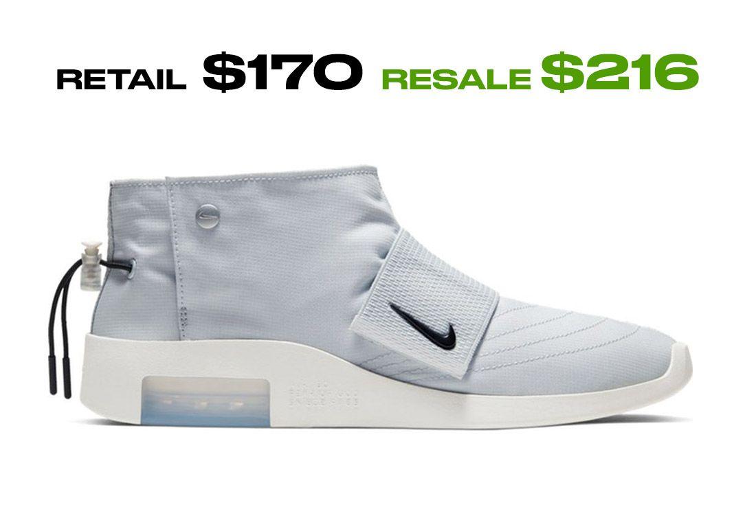 Stockx Resale Nike Fear Of God Moccasin Side Shot