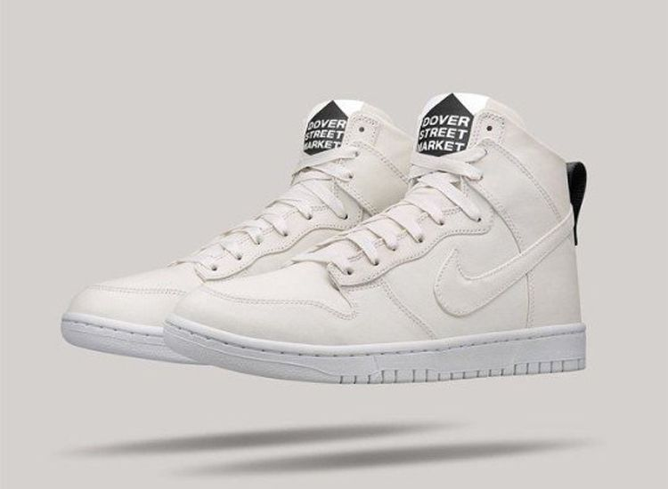 Dover Street Market Nike Dunk High Lux White 1