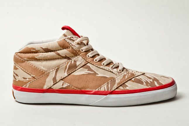 Losers Woodland Camo Brown Tan Red 1 1