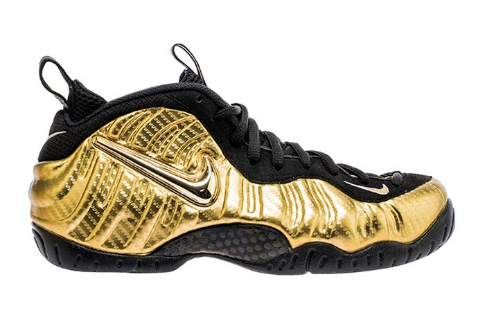 Nike Air Foamposite Pro Metallic Gold