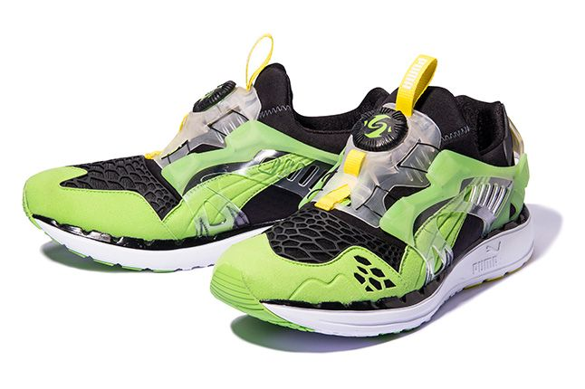 Puma Disc Blaze Ltwt Web Green Pair 1
