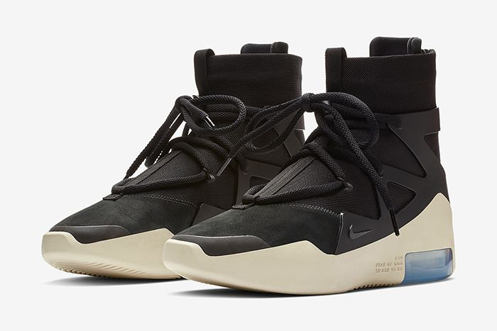 Nike Air Fear Of God 1 Black Official 1