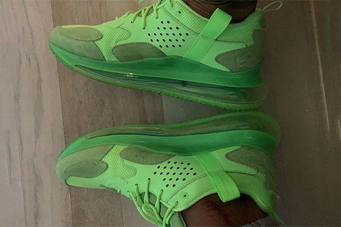 Odell Beckham Jr Air Max 720 Shoe Green