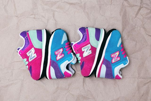 New Balance Toddler 574 Hologram Pack 5