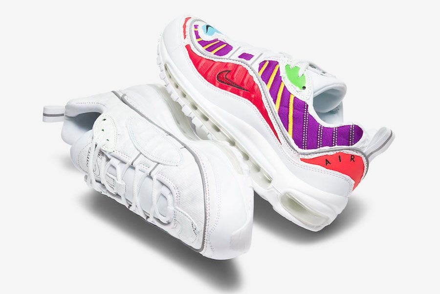 Nike Air Max 98 Top Full Both