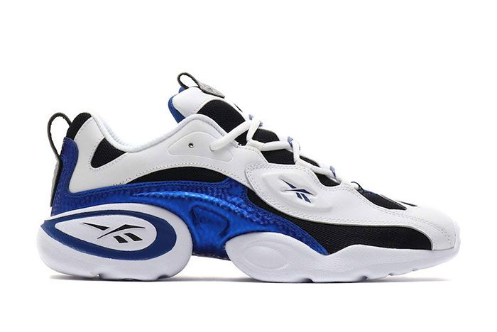 Reebok Electrolyte 97 Og White Black Blue Dv8227 Lateral