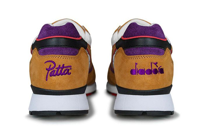 Patta Diadora V7000 Honey Mustard 5