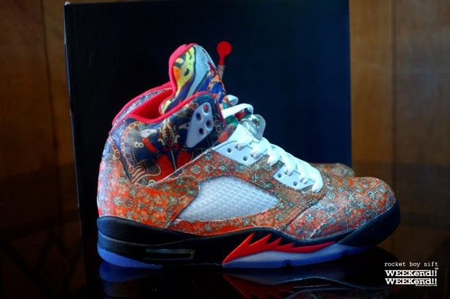 Air Jordan 5 Rocket Boy Nift Custom Profile 1