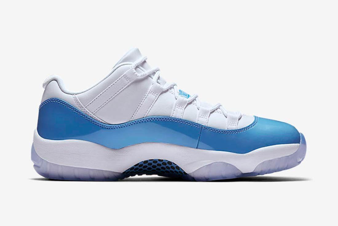 Air Jordan 11 Low University Blue 3