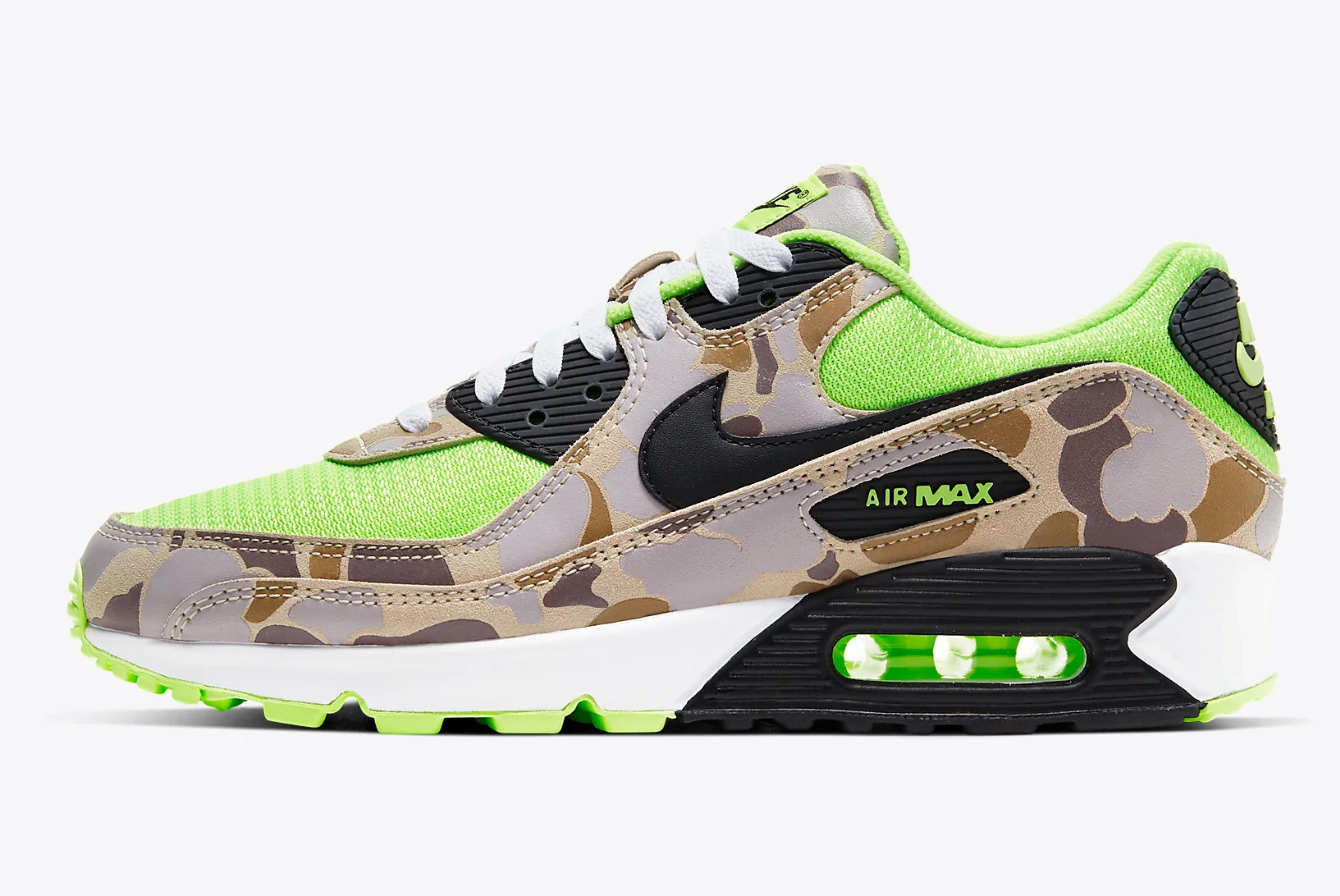 Nike Air Max 90 'Duck Camo Volt'