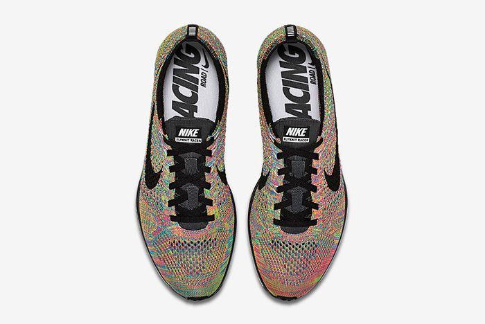 Nike Flyknit Racer Multicolour 3
