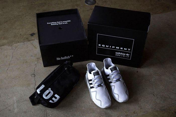 Adidas Originals Eqt Cushion Adv Friends And Family White Black 0