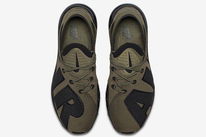 Nike Air Max Flair Medium Olive Black 4