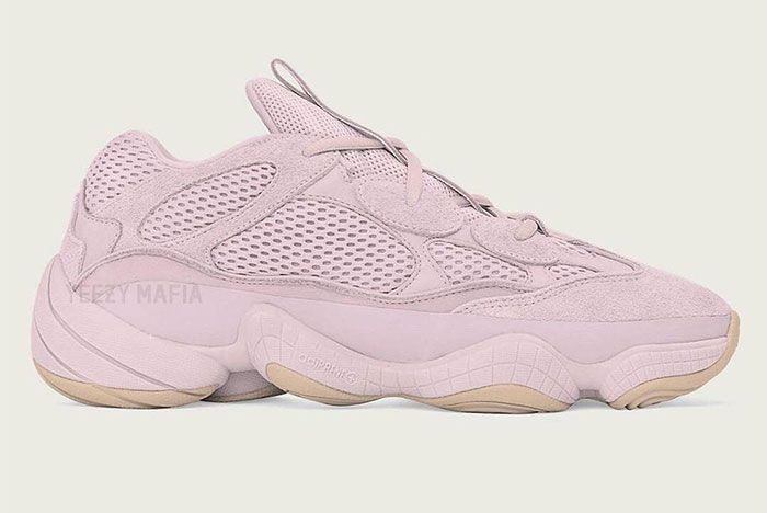 Yeezy Boost 500 Soft Vision Lateral Side Shot