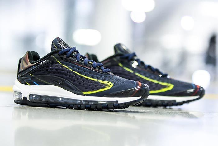 Nike Wmns Air Max Deluxe Black Navy 1
