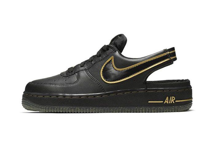 Nike Air Force 1 Vtf Black Side5