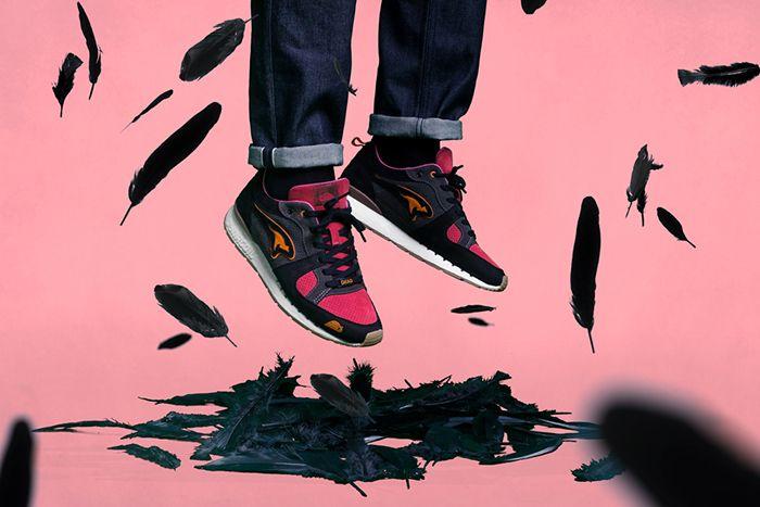Sneakerbaas Kangaroos Coil R1 Dead Bird 4710D 000 5046 Release Date Hero Feet