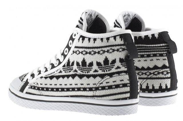 Adidas Originals Honey Hook White Black Heel