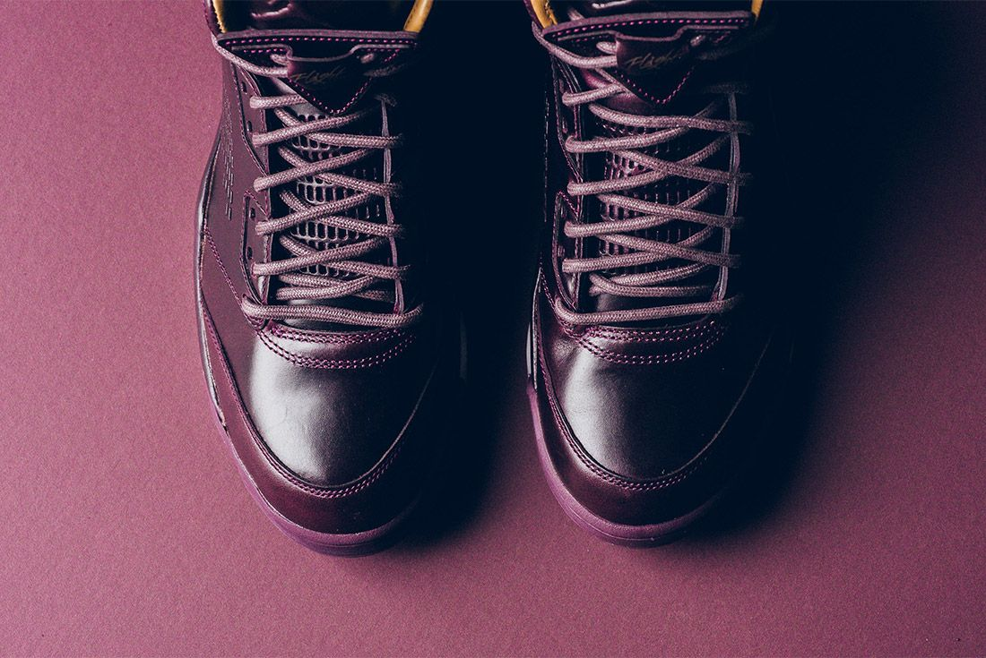 Air Jordan 5 Retro Premium Bordeaux 881432 612 Sneaker Freaker 10
