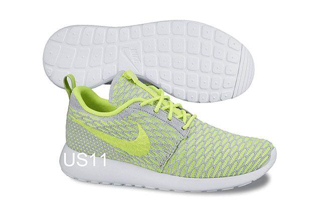 Nike Flyknit Rosherun Gry Ylw