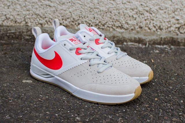 Nike Sb Project Ba Beige Laser Crimson 6