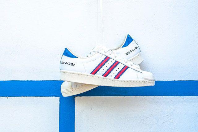 Adidas Consortium D Mop Superstar 80 7