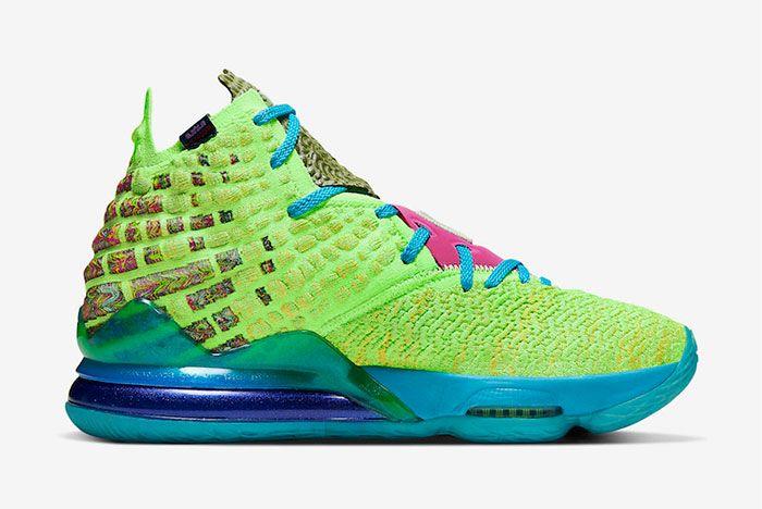 Nike Lebron 17 Mr Swackhammer Right