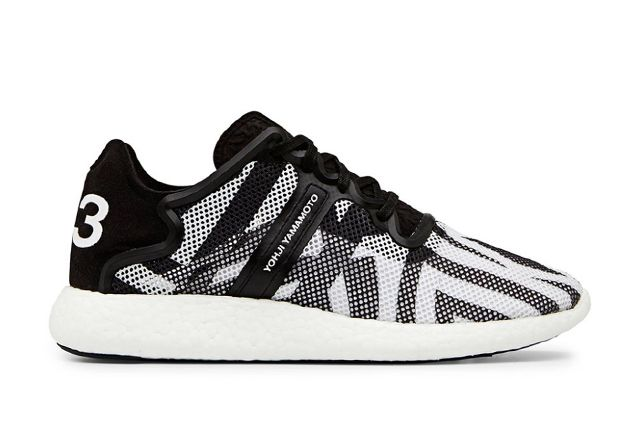 Y 3 Yohji Boost Black And White 3
