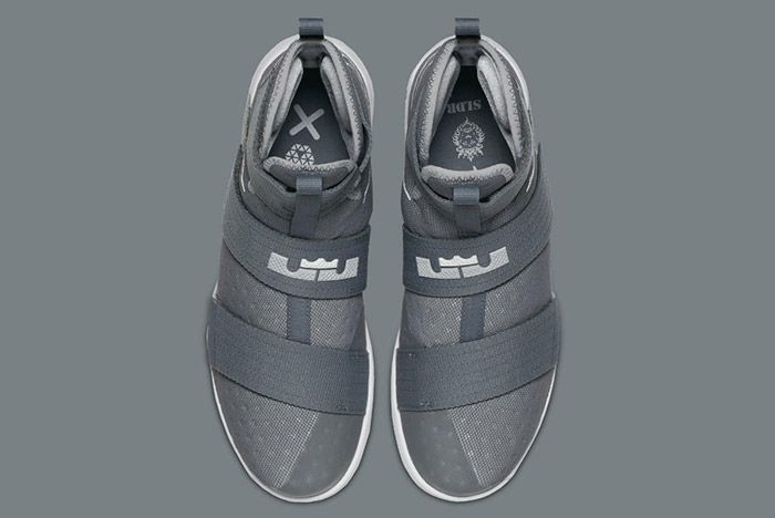 Nikelebron Soldier 10 Cool Grey 3