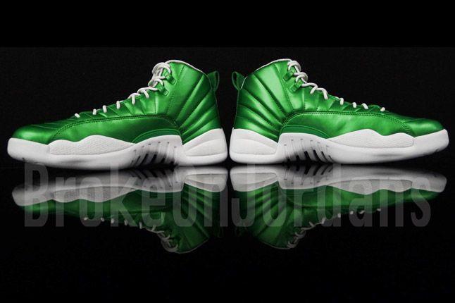 Jordan 12 Metallic Green Sample 03 1