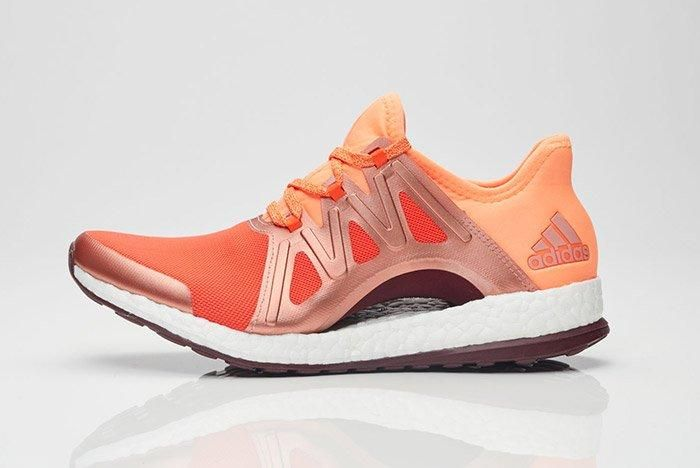 Adidas Pure Boost Womens Xpose Orange 1