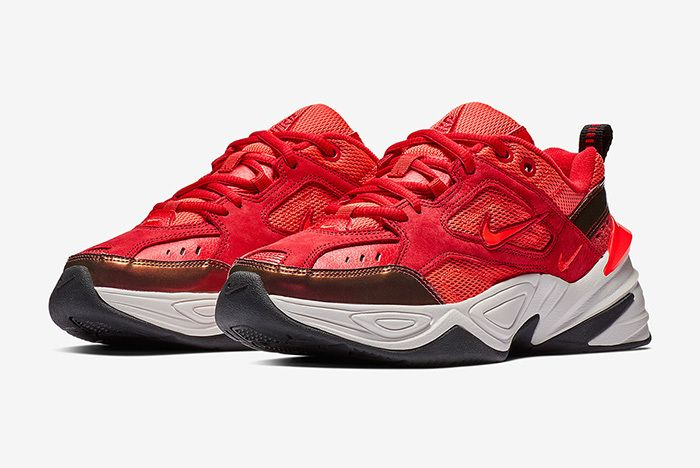 Nike M2K Tekno Red Suede 1