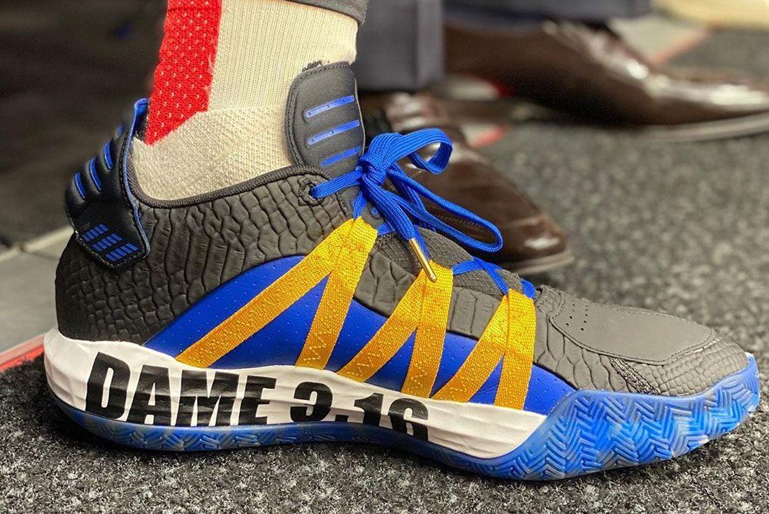 Adidas Dame 6 Steve Austin Right