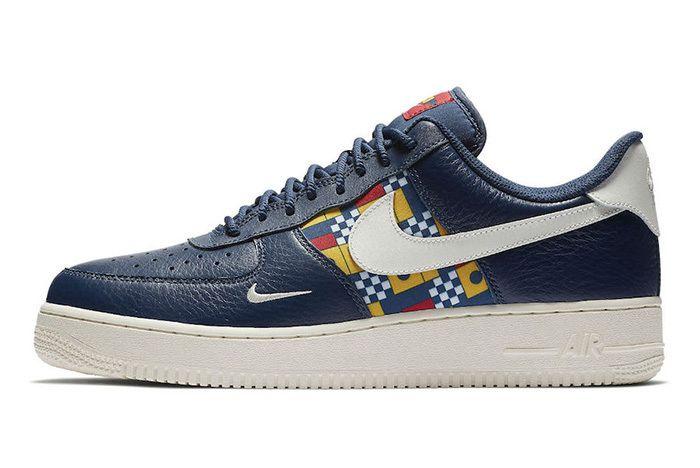 Nike Air Force 1 Low Nautical Redux Ar5394 400 Side Sneaker Freaker