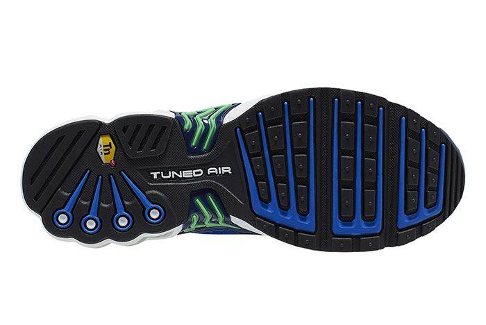Nike Air Max Plus Iii Blue Green Sole