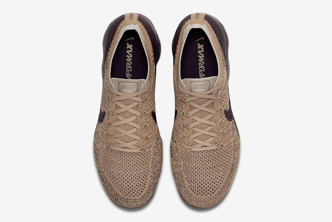 Nike Air Vapormax Tan Brown Black 3
