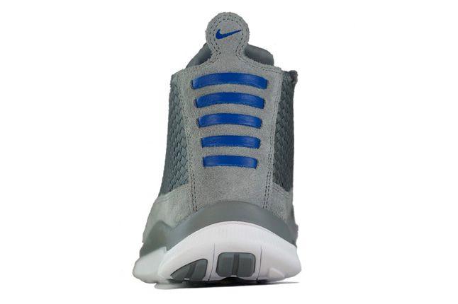 Nike Free Chukka Woven Hyper Blue Heel 1