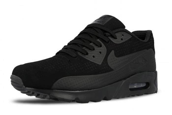 Nike Air Max 90 Ult Moire Tripleblack4