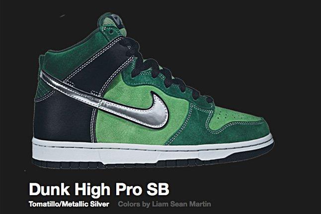 Nike Tomatillo Dunk High Pro Sb 2007 1