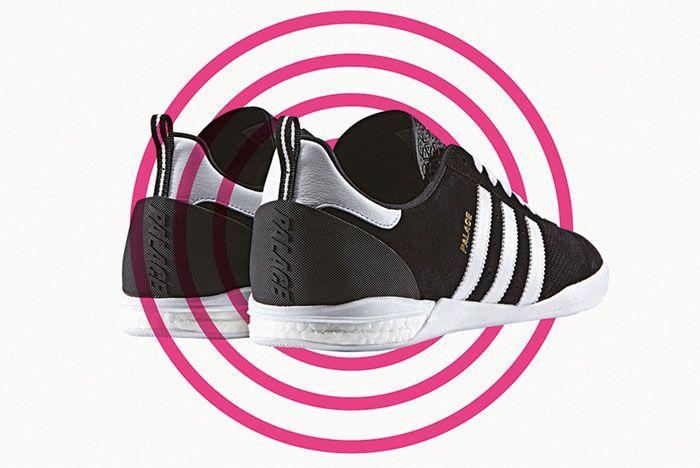 Adidas Palace Indoor Boost Black Back Side